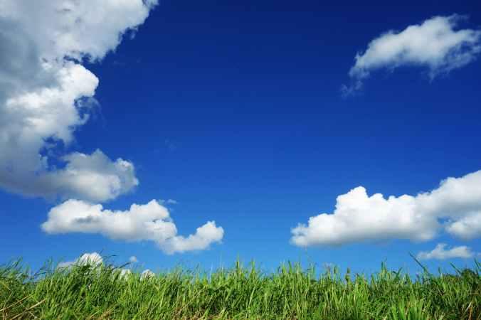 nature sky sunny clouds