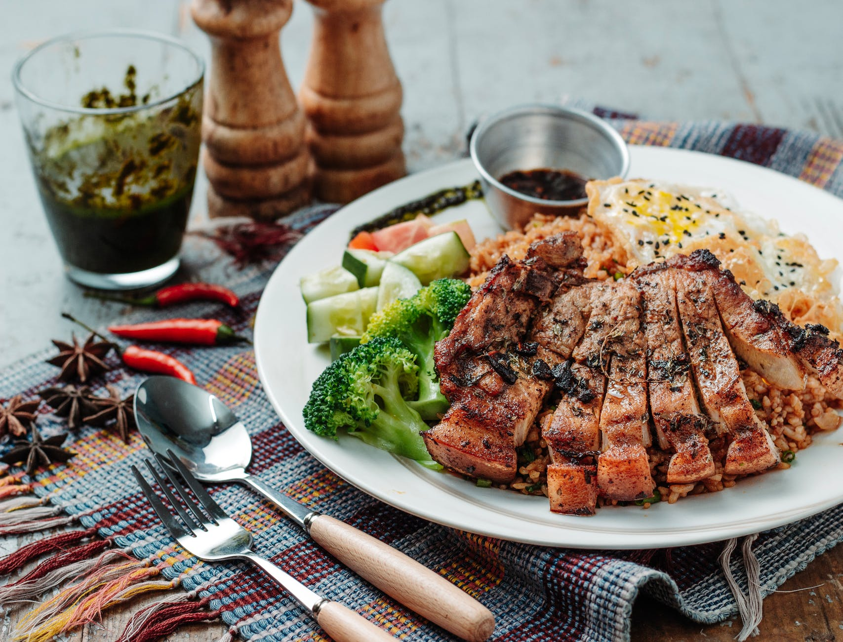 photo of grilled barbecue